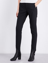 Helmut Lang Skinny high-rise jersey stirrup trousers