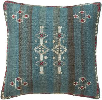 OKA Cayuga Cushion Cover, Large - Blue