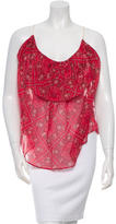 Etoile Isabel Marant Sleeveless Printed Top