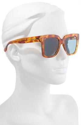 Quay Icy 51mm Gradient Square Sunglasses