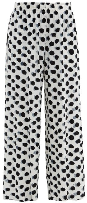 6690568b5840 Black And White Dotted Pants - ShopStyle