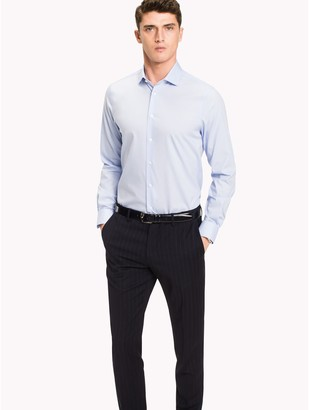 Tommy Hilfiger Slim Fit Stretch Poplin Dress Shirt