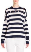 Jil Sander Striped Wool Top