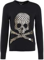 True Religion Skull Long Sleeved Top Black