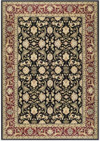 "Kenneth Mink Infinity Persian Black/Red 9'2"" x 12'6"" Area Rug"