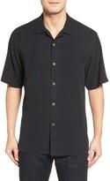 Tommy Bahama Men's Big & Tall Islander Fronds Silk Camp Shirt