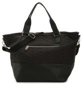 Madden Girl Quilted Cori Weekender Bag