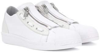 Y-3 Y 3 Super Zip leather sneakers