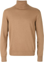 Cruciani roll neck jumper