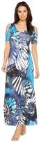 Karen Kane Cold Shoulder Maxi Dress Women's Dress