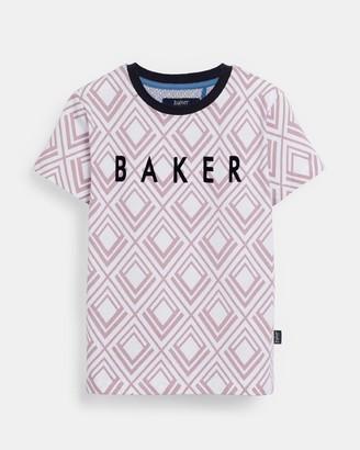 Ted Baker Geo Print Logo T-shirt