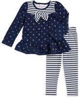 Nannette Stars and Stripes Sweater and Leggings Set