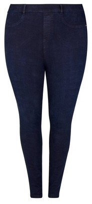 Dorothy Perkins Womens **Dp Curve Navy 'Eden' Lightweight Jeggings