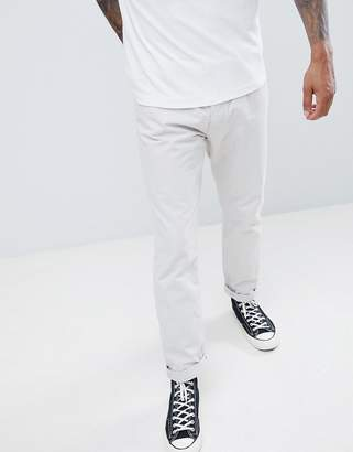 French Connection Slim Fit Chinos-Stone