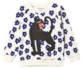Mini Rodini Blossom and Panther Print Sweatshirt