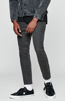 PacSun Skinny Cropped Washed Black Jeans
