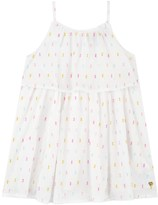 Juicy Couture Girls Clipped Dot Dress