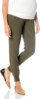 A Pea in the Pod Secret Fit Belly Crepe Slim Leg Maternity Jogger Pant