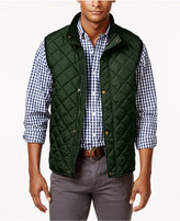 Club Room Men's Zip and Snap Quilted Vest, Only at Macy's