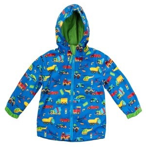 Stephen Joseph Big Boy Car Print Raincoat