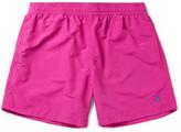 Polo Ralph Lauren Slim-fit Mid-length Swim Shorts - Pink