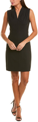 Elie Tahari Amabel Wool-Blend Sheath Dress