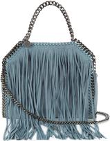 Stella McCartney Falabella mini fringed faux-suede cross-body bag
