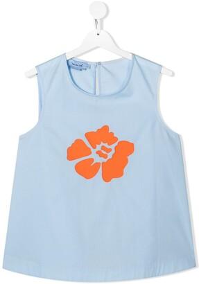 Mi Mi Sol TEEN floral print vest top
