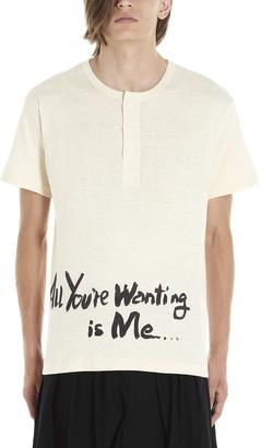 Yohji Yamamoto all Youre Wanting Is Me T-shirt