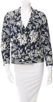 Isabel Marant Floral Print Double-Breasted Blazer