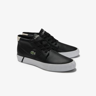 Lacoste Men's Gripshot Leather and Synthetic Chukkas