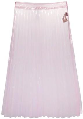 Ssheena A-line sheer skirt