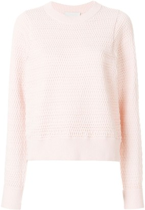 3.1 Phillip Lim Faux-plaited pullover