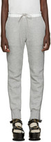 Sacai Grey Knit Back Lounge Pants