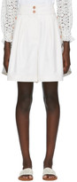 See by Chloe Off-White City Cargo Shorts