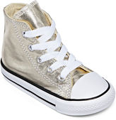 Converse Chuck Taylor All Star Metallic Girls High-Top Sneakers - Toddler