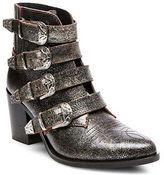 Steve Madden Praire Buckled Leather Ankle Boots