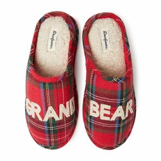Dearfoams Unisex's Family Collection Grand Bear Clog Slipper