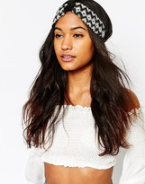 Asos Seedbead Turban Headband
