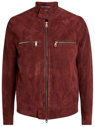 Paul Smith Suede Zipped Pocket Jacket
