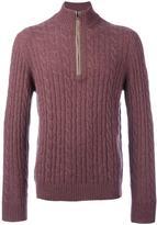 Loro Piana cable knit jumper