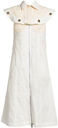 MONCLER GENIUS 2 Moncler 1952 Sleeveless Embellished Shirt Dress
