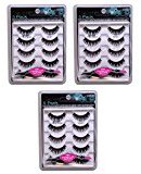 Ardell 15 PAIRS Fashion Lashes- 5 Pairs/Pack 101 Demi - FREE APPLICATOR