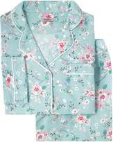 Cath Kidston Trailing Rose Brushed Flannel Long PJ Set