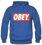 OBEY Logo Printed Hoodies OBEY Logo Printed For Mens Hoodies Sweatshirts Pullover Tops