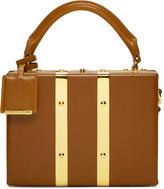 Sophie Hulme Tan Mini Albany Suitcase Bag
