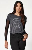 La Hearts Distressed Short Sleeve T-Shirt