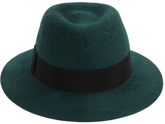 Saint Laurent Chapo Fedora Felted Lapin Hat