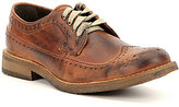 Bed Stu Men's Beacon Distressed Leather Wingtip Oxfords