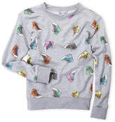 Flowers by Zoe Girls 7-16) Sneaker Sweatshirt